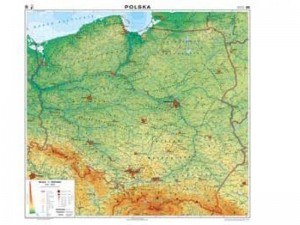 Mapy geograficzne / polityczne