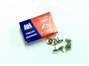 pinezki-srebrne