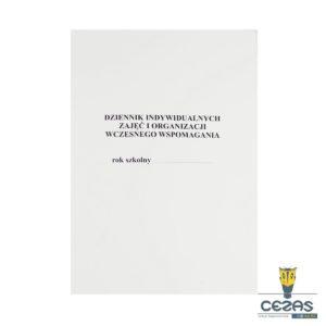 dziennik indywidualnych zaj¦Ö¦ç i organizacji wczesnego wspomagania